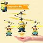 Helicoptero Los Minions 2 / Control Remoto / Sensor Ir