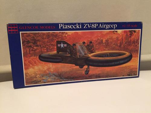 aeromodelismo militar 1/35 piasecki zv-8p airgeep glencoe