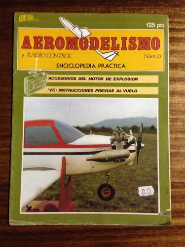 aeromodelismo y radio control -  fascículo nº 23