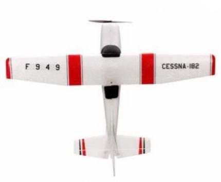 aeromodelo avião cessna f949 182 wltoys  2.4ghz 3ch airplane