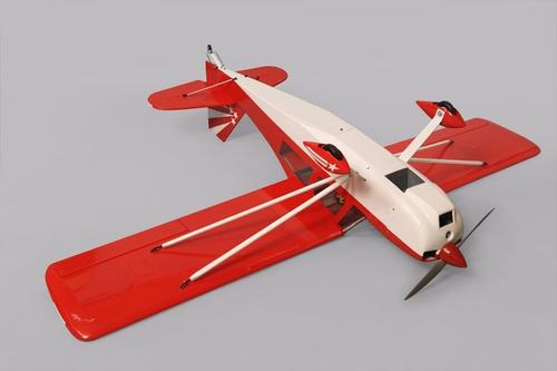 aeromodelo decathlon 120/2t 20cc arf ph116 glow eletrico