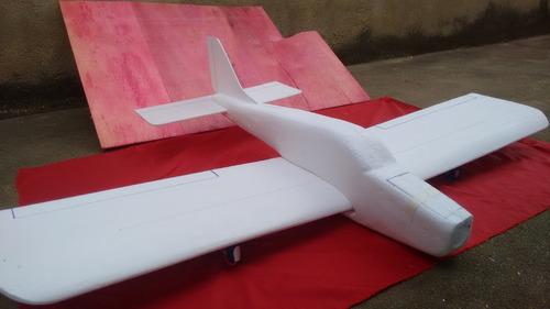 aeromodelo elétrico asa baixa cherokee 140.140 mt de asa