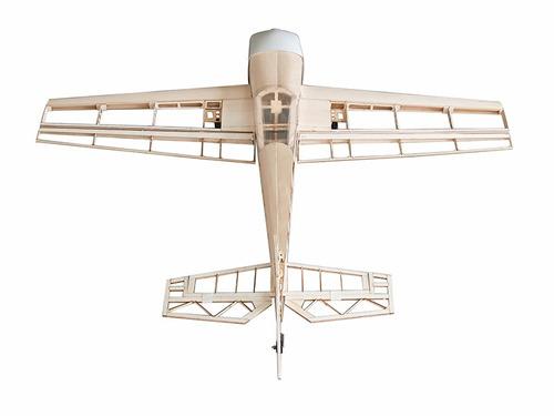 aeromodelo extra 330 kit balsa motor elétrico para montagem