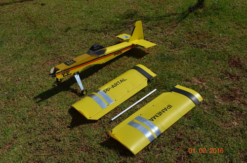 aeromodelo ipanema  artal novo modelo asa baioneta