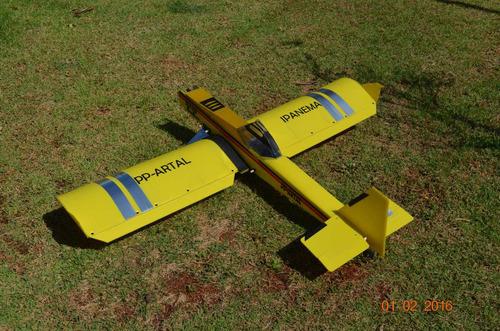 aeromodelo ipanema artal novo modelo r$290 link no anúncio