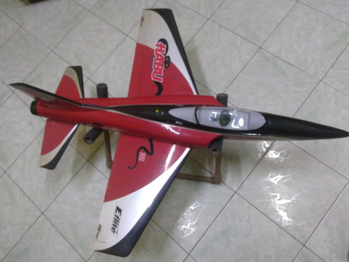 aeromodelo jato habu edf 32 e-flite elétrico