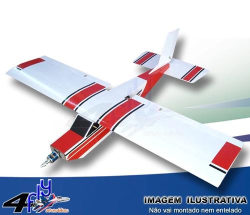aeromodelo scoutcessna - kit p/ montar em depron e isopor p3