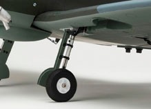 Aeromodelo Spitfire Warbird Kit Arf Kyosho Gp50