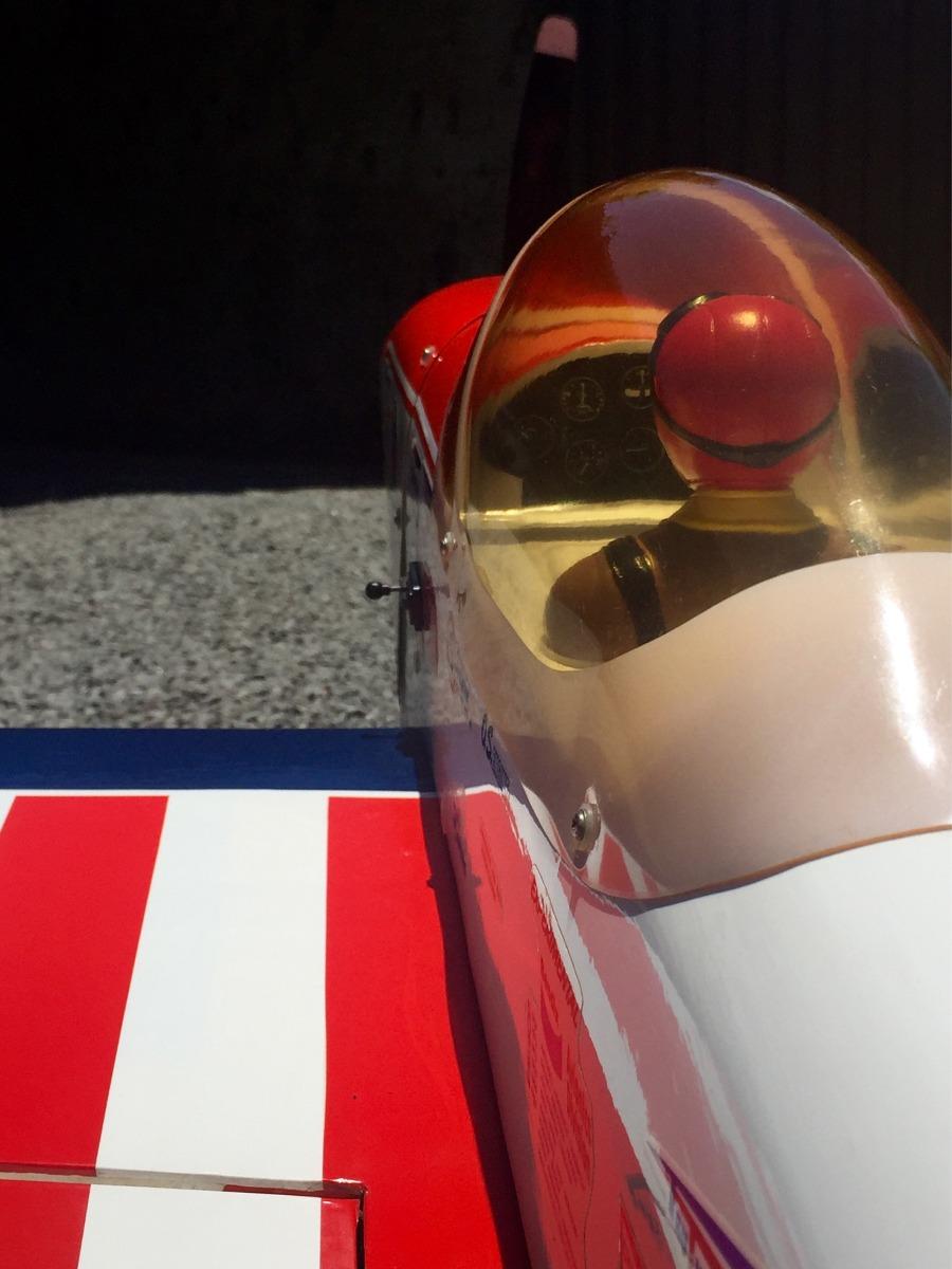 Aeromodelo Super Chipmunk 90 Radar Com Motor 4 Stroke 91sii