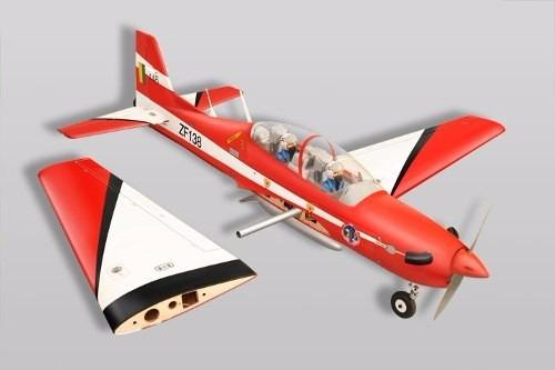 aeromodelo tucano 46-55 arf phoenix model eletrico ou glow