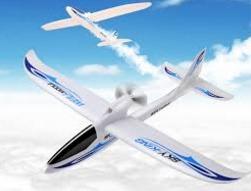 aeromodelo wltoys avião airplane f959 750 mm env. 2.4ghz 3ch