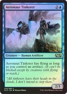 aeronaut tinkerer magic 2015 core set (foil)