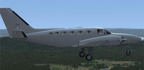 aeronave cessna 441 para simulador de voo fsx/p3d