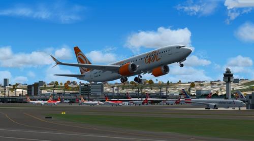 aeronave fsx - boeing 737-8 max gol pr-max