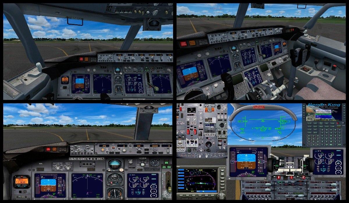 FS2004 PARA 737-800 BAIXAR BOEING PAINEL