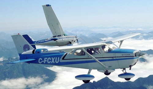 aeronave para simulador de voo