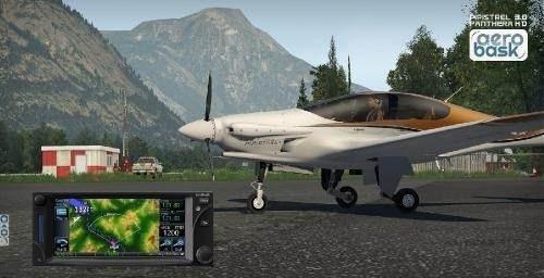 Aeronave Pipistrel Panthera V3 Gtn 750 - Aerobask X-plane 11