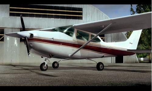 aeronaves de hélices para fsx