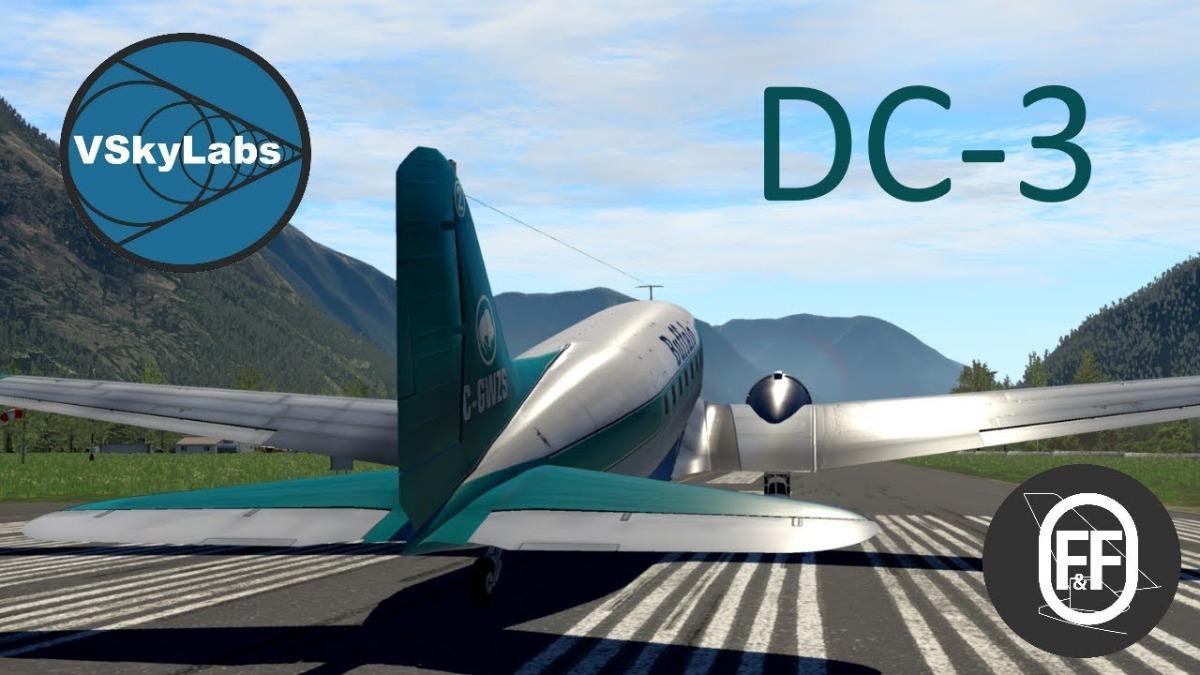 Aeronaves Varias Dhc/dc-8 E Turbo Helices Para X-plane 11