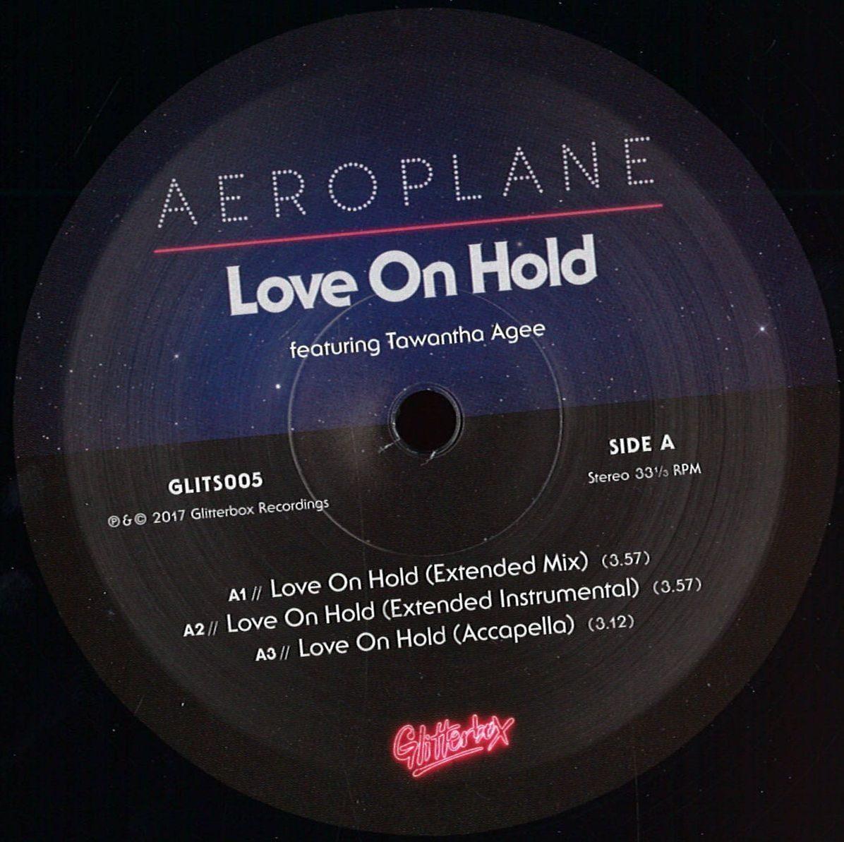 Aeroplane Feat Tawatha Age - Love On Hold - R$ 98,00 em