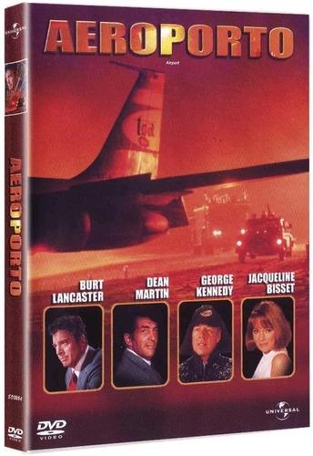 aeroporto - dvd - burt lancaster - dean martin - jean seberg
