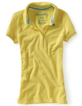 aeropostal camisa polo mujer talla s m l envio gratis