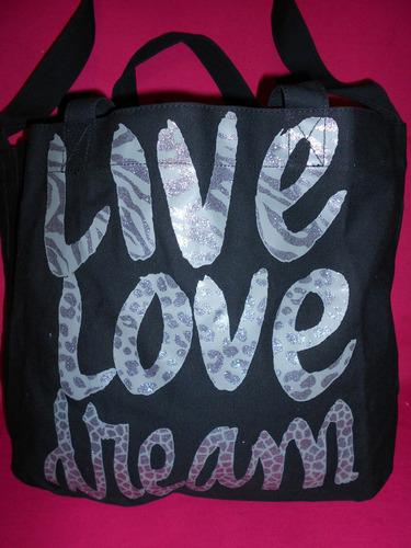 aeropostale bolsa maleta mochila negra letras plata amyglo