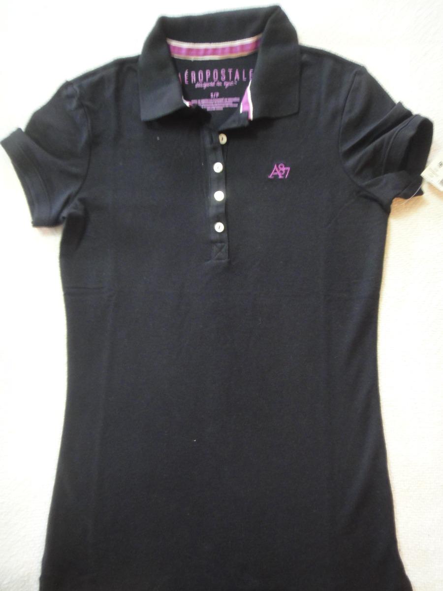 aeropostale camisa polo piquet feminina importada original. Carregando zoom. f426e7cce9c69