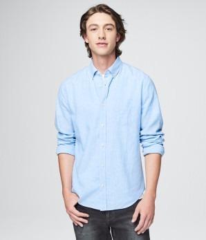 aéropostale liq camisa azul rayas blancas 2xl y 3xl 03/18