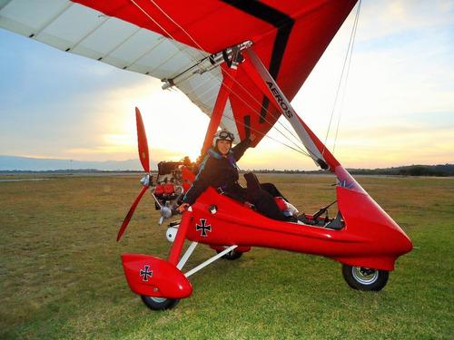aeros trike 912 con trailer (opcional)