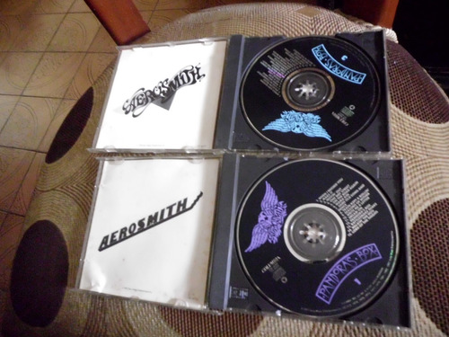 aerosmith 2 cds pandora box 1 y 3