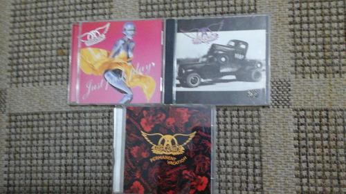 aerosmith - 3 cds-importados