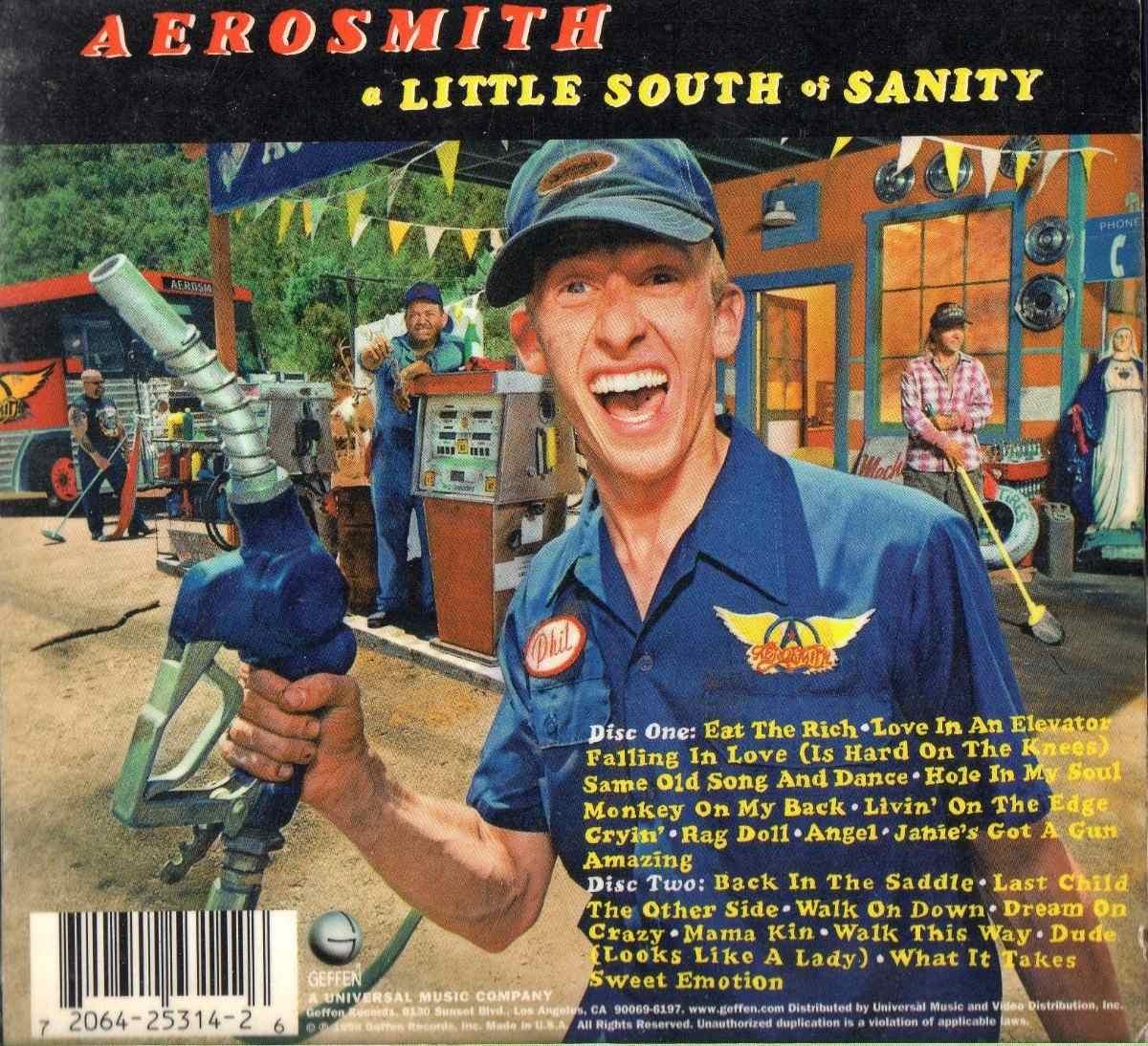 Aerosmith sweet emotion album cover