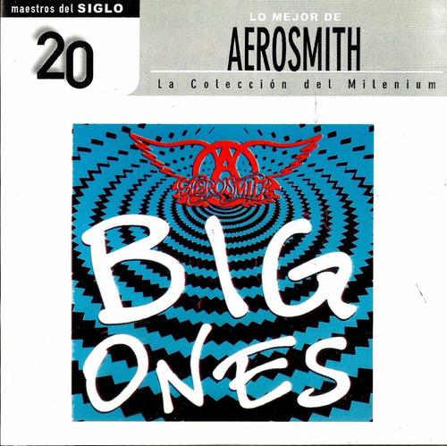 aerosmith big ones exitos cd