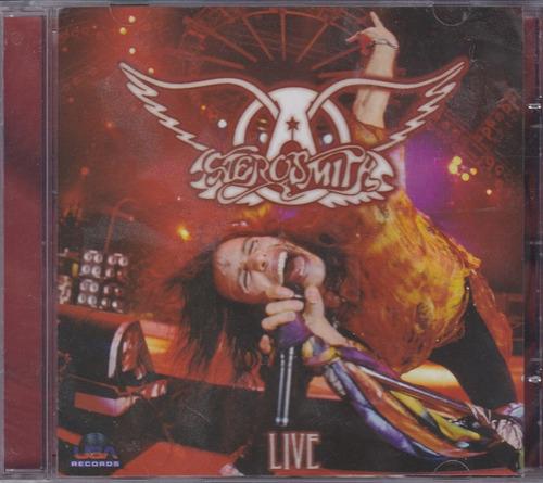 aerosmith - cd live - lacrado de fábrica