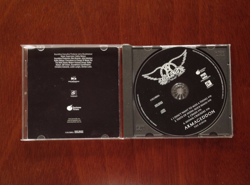 aerosmith - cd  original rock- i don't want to miss a thing