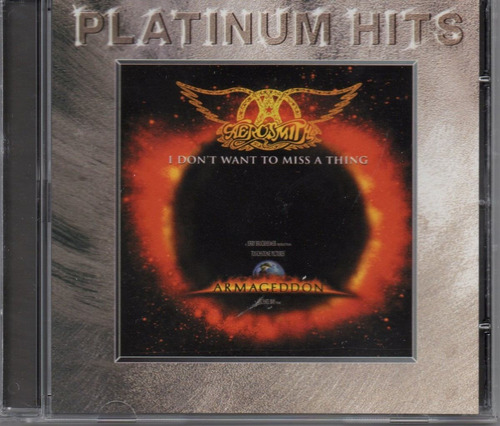 aerosmith - i don´t want to  miss a thing - cd single raro