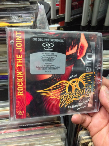 aerosmith rockin' the joint dual disc audio video importado