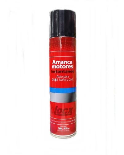aerosol arranca motores locx diesel nafta gnc 419ml