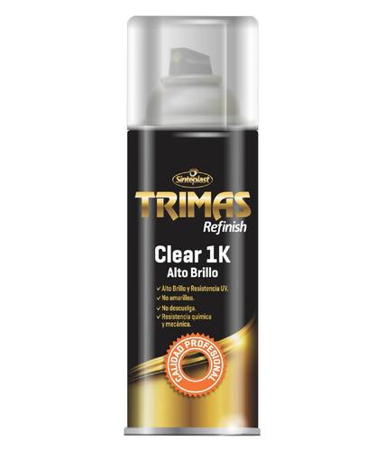 aerosol clear barniz laca 1k auto  alto brillo 400ml trimas