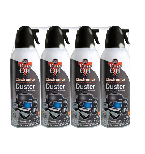 aerosol comprimido para limpieza paquete por 4 falcon 152a