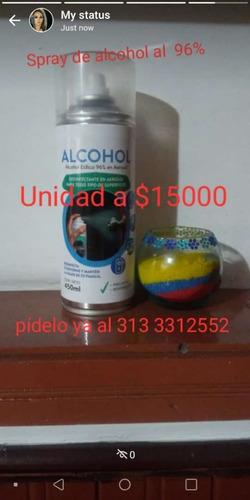 aerosol de alcohol al 96%