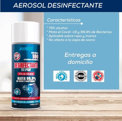 aerosol desinfectante