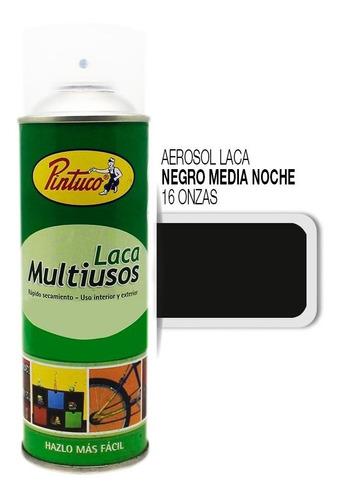 aerosol laca negro medianoche 16 onzas 7580-8016 pintuco