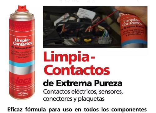 aerosol limpia contactos de extrema pureza locx 360ml