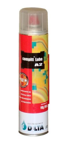 aerosol lubricante compitt lube a2 pelicula seca 440cc