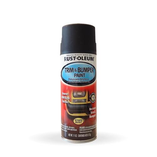 aerosol paragolpes auto trim & bumper rust oleum - prestigio
