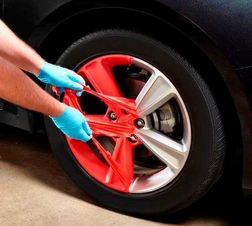 aerosol peel coat vinilo remov autos llantas 18 cuotas s/int