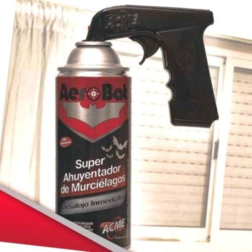 aerosol repelente quimico de murcielagos sin veneno aerobat