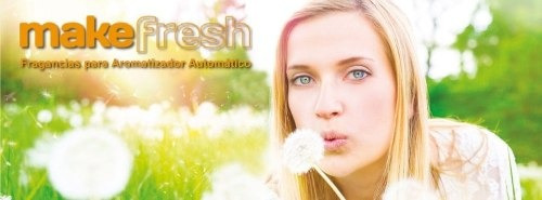 aerosoles aromatizantes para difusor make fresh pack 12un